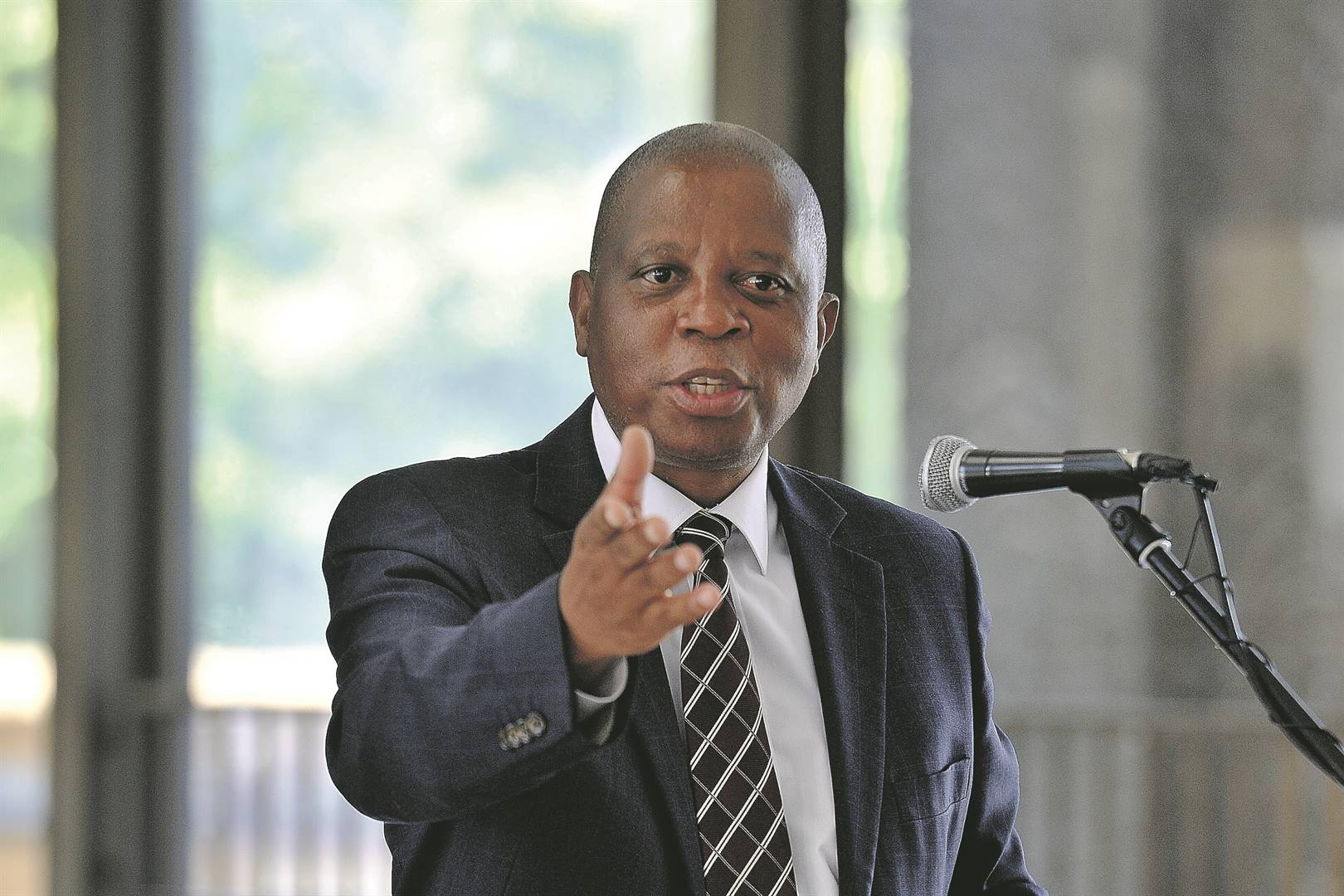 Herman Mashaba of the newly-formed ActionSA.