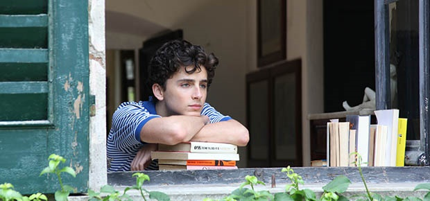 Timothée Chalamet in Call Me By Your Name. (SP)