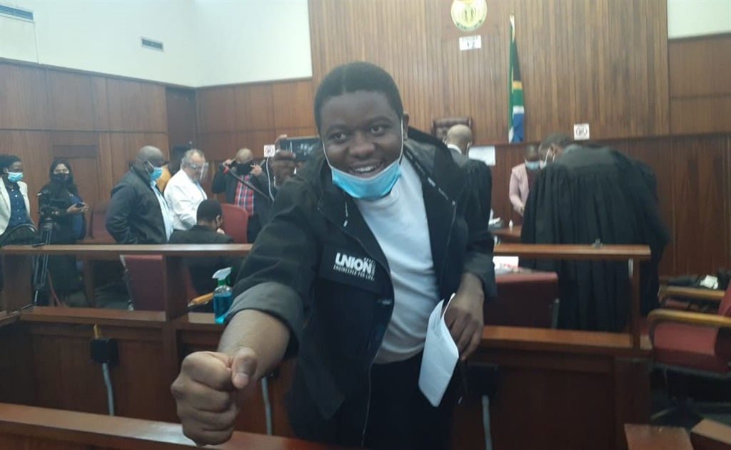 Bonginkosi Khanyile, at the Durban Magistrate's Court in Durban.