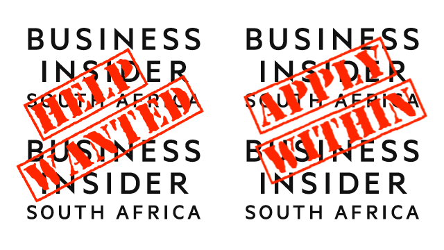 Business Insider South Africa is now hiring. Apply