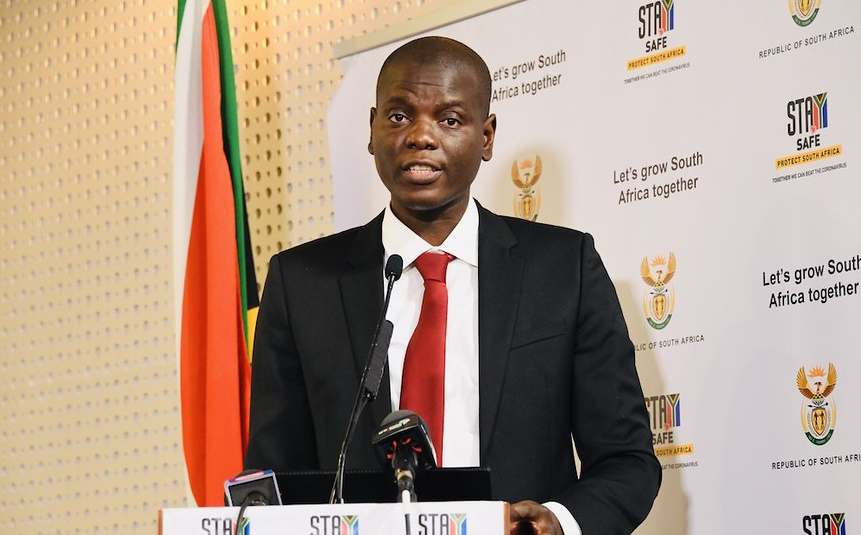 Justice and Correctional Services Minister Ronald Lamola.