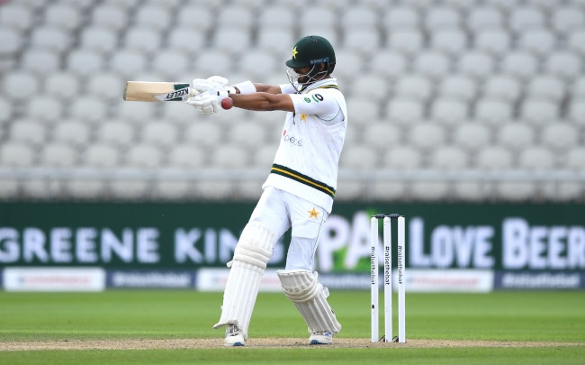 Shan Masood (Photo by Gareth Copley/Getty Images for ECB)