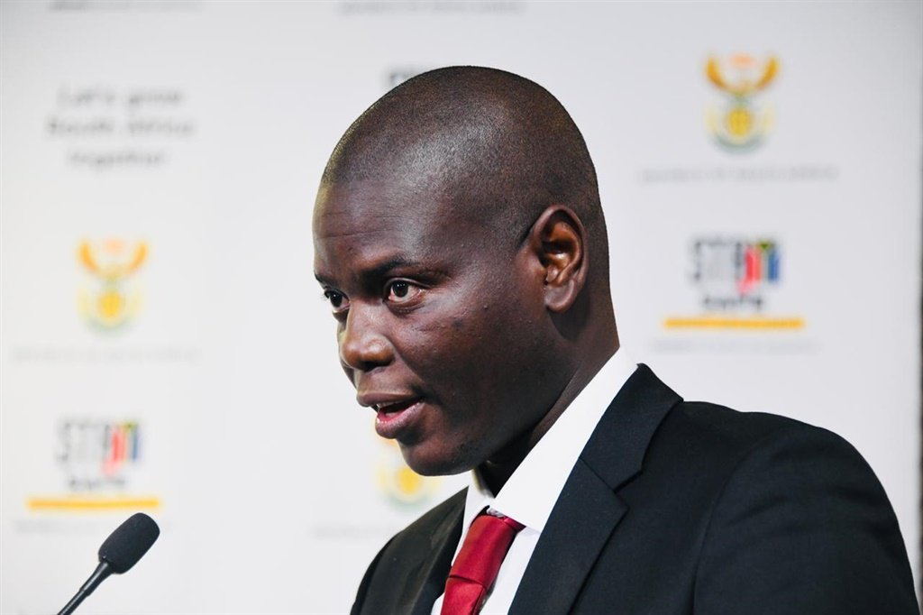 Justice Minister Ronald Lamola.