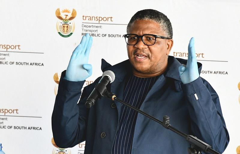 Minister of Transport Fikile Mbalula.