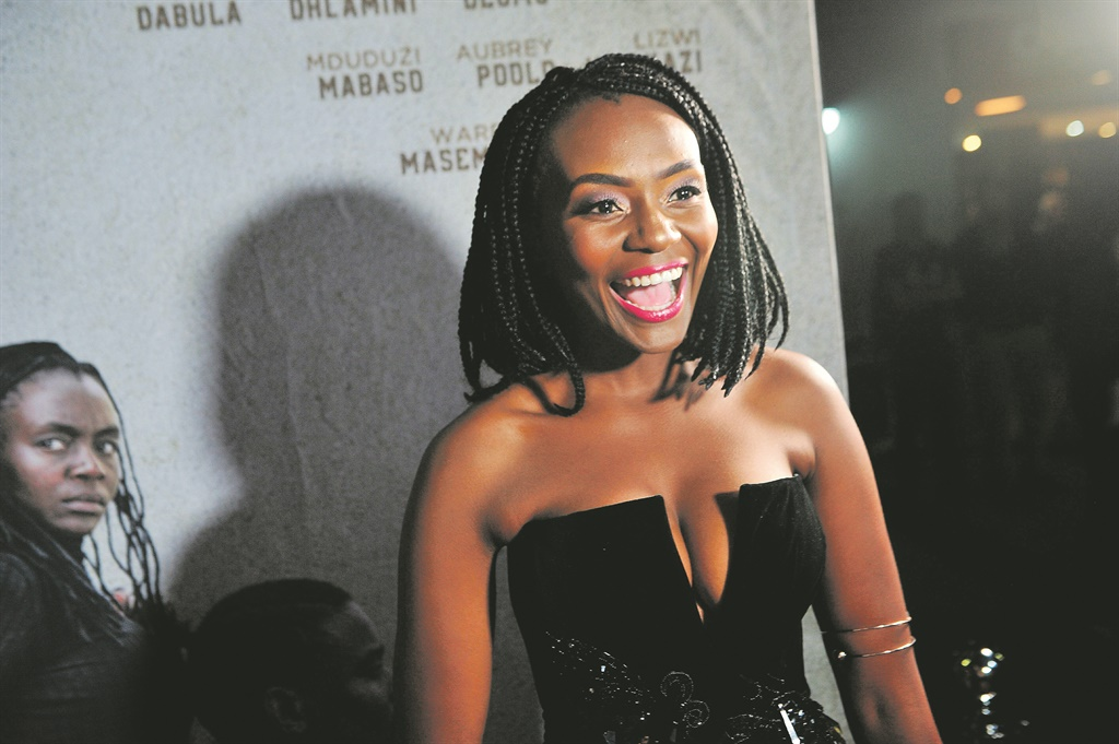 Zethu Dlomo: You might be familiar with her work on TV and the big screen. pictures:supplied