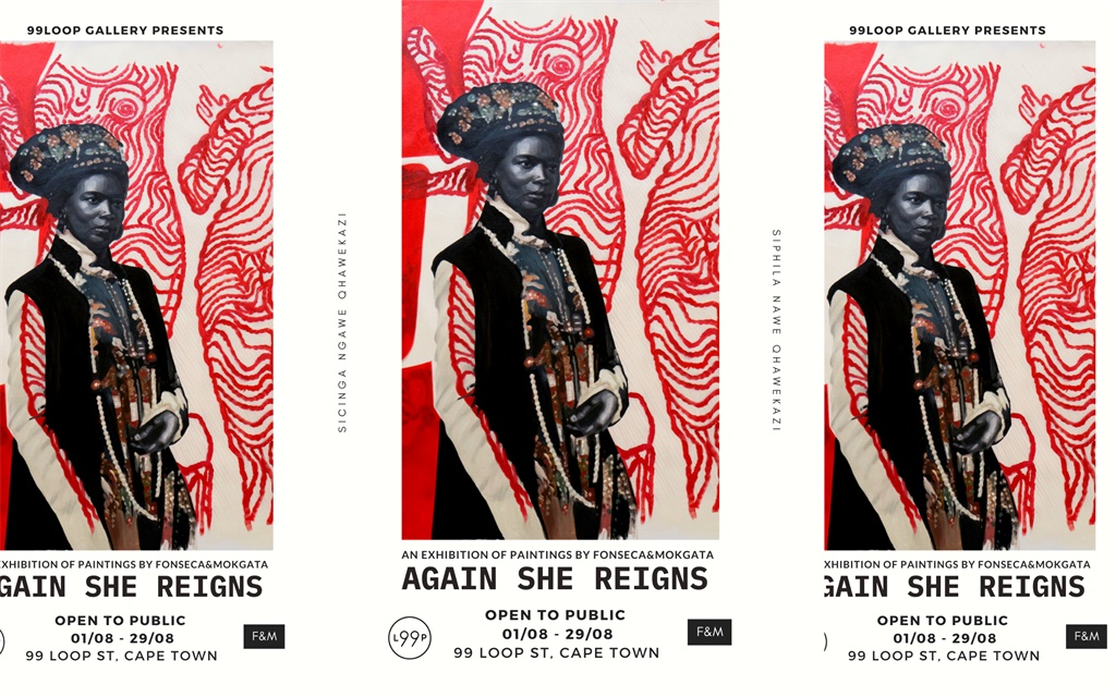 99 Loop Gallery in collaboration with Fonseca & Mokgata, present 'Again She Reigns'. (Supplied)