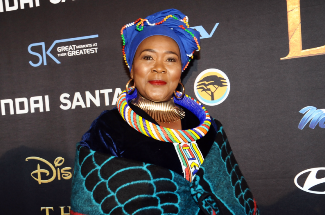 Connie Chiume on Black is King and her role as a fussy mother in Netflix's Seriously Single.