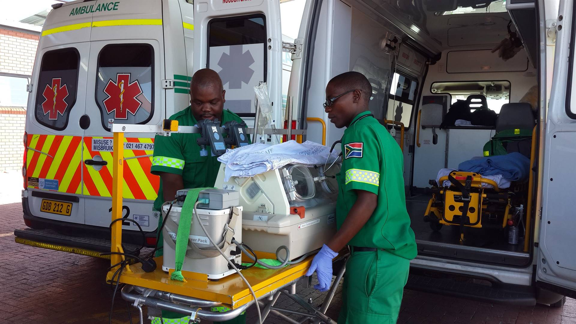 In South Africa responding to medical emergencies can mean risking your life, possible assault and losing some of your belongings. Picture: EMS