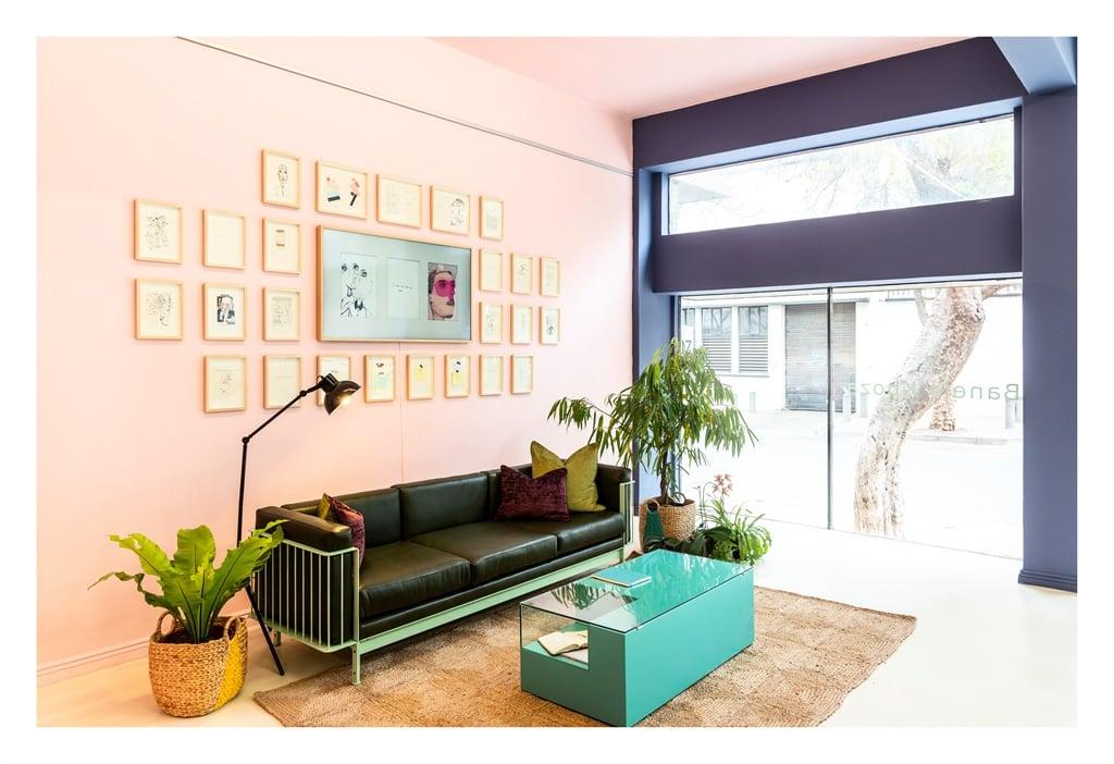 Inside BKhz, a Braamfontein based mutlipurpose space for cultural practitioners. (Tatenda Chidora)