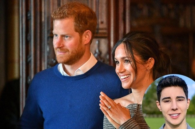 Prince Harry and Meghan. (Photo: Gallo Images/Getty Images/Twitter)