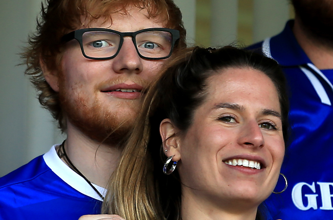 Ed Sheeran and his wife Cherry Seaborn (Photo: Getty Images/Gallo Images)