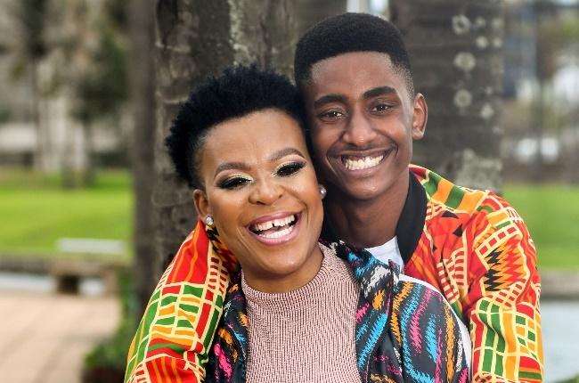Zodwa Wabantu and Vusi Ngubane in happier times.