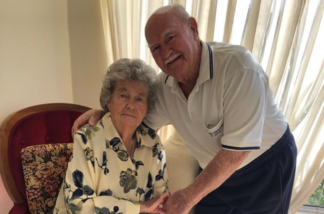 Willem and Rita Snyman (Photo: Supplied)