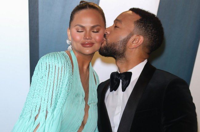 Chrissy Teigen and John Legend. (PHOTO: Gallo Images/Getty Images)