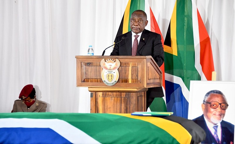 Those in power need to examine themselves - Ramaphosa at struggle stalwart John Nkadimeng's funeral - News24