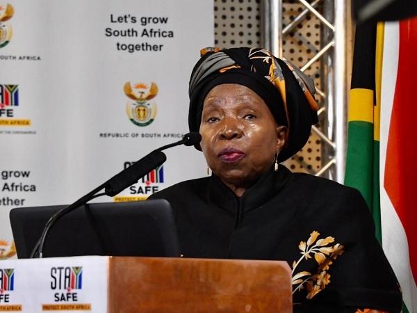 Cooperative Governance and Traditional Affairs Minister Dr. Nkosazana Dlamini-Zuma. Picture: GCIS