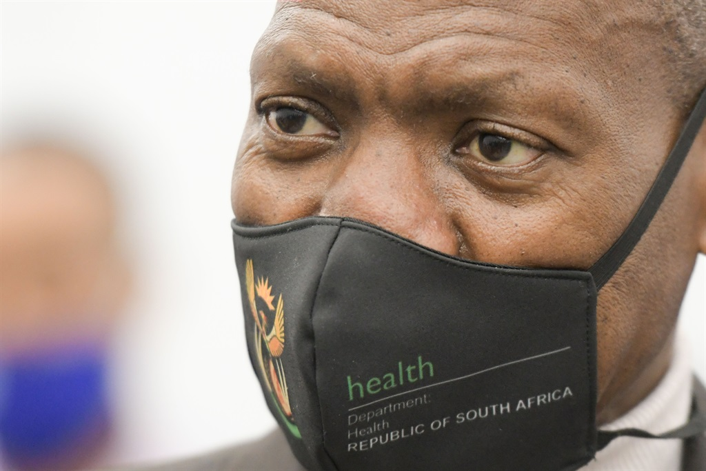 South African Minister of Health, Dr Zweli Mkhize.