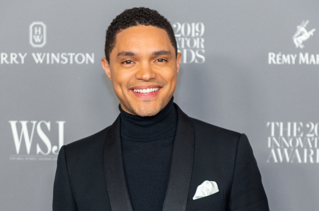 Trevor Noah attends the WSJ Mag 2019 Innovator Awards at The Museum of Modern Art.