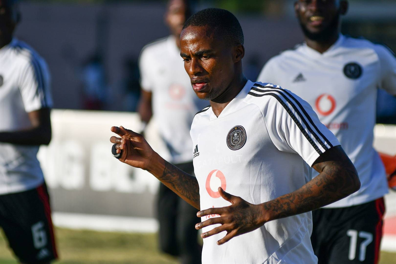 Thembinkosi Lorch marked his return to action for Orlando Pirates on Tuesday. Picture: Darren Stewart / Gallo Images