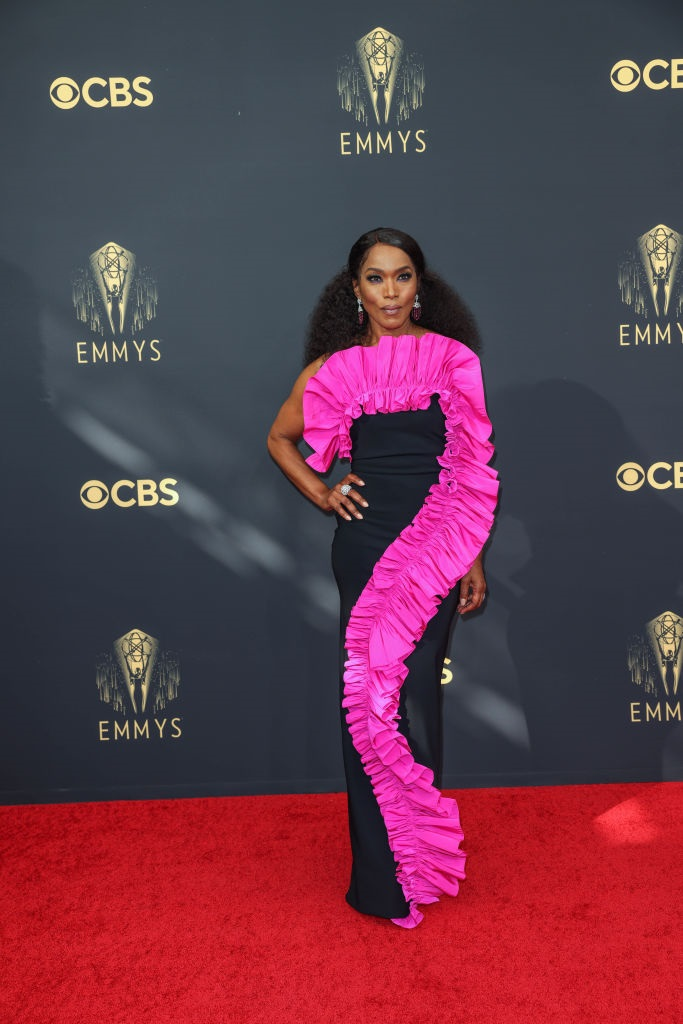 glam, red carpet, tv star, emmys. icon, black wo