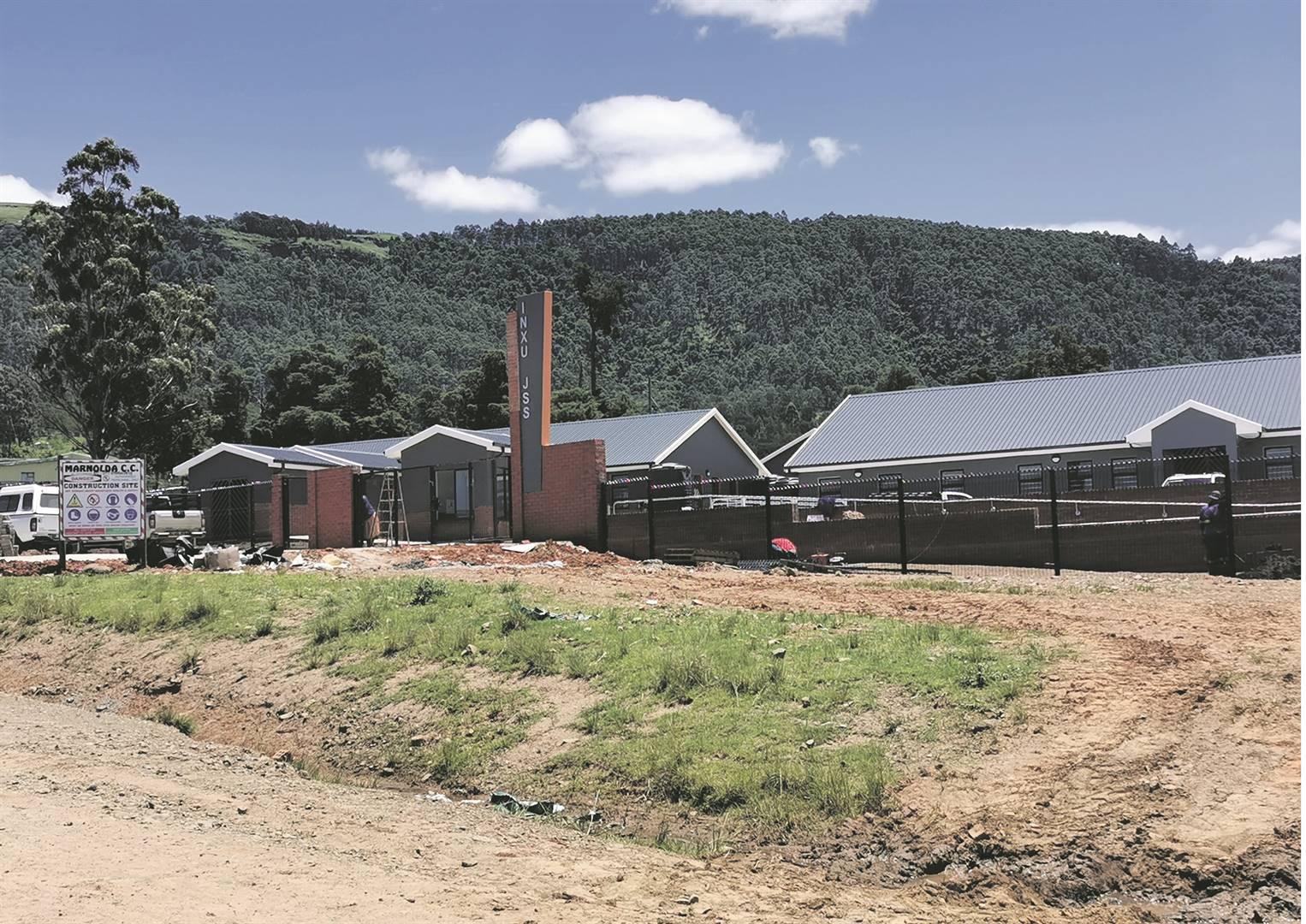 Inxu Junior Secondary School in Tsolo could stand empty after parents and traditional leaders vowed they would not send children there. Picture: Lubabalo Ngcukana