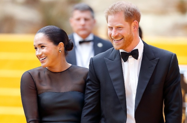 Prince Harry and Meghan at The Lion King premiere. (Photo: Gallo Images/Getty Images)
