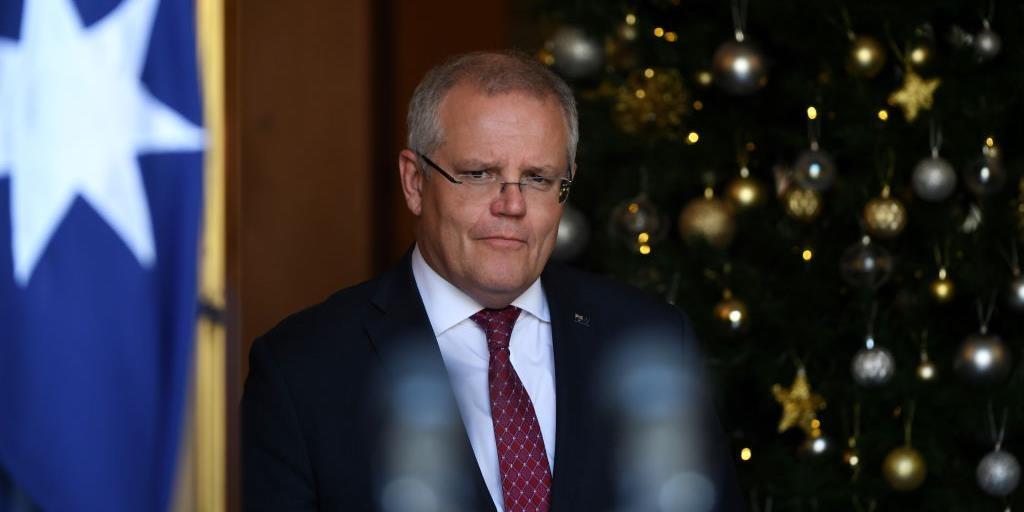 Australian Prime Minister Scott Morrison.