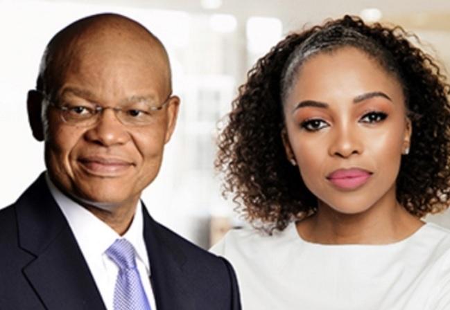 Investec Group CEO Fani Titi and South Africa CEO of Naspers Phuthi Mahanyele-Dabengwa. (Image: Naspers)