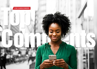 The 'Top comments' newsletter is dedicated to the best conversations and comments on News24.