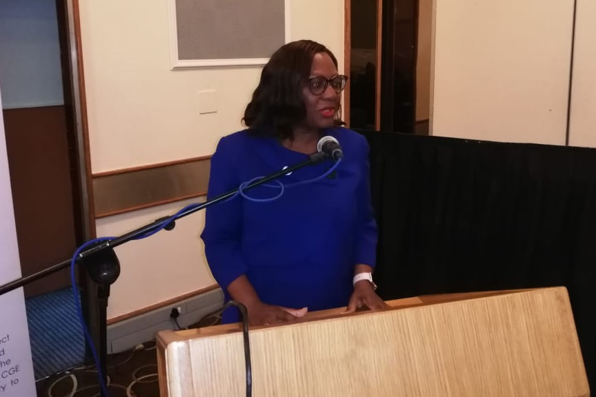 Outgoing Commission of Gender Equality chief executive Keketso Maema. Picture: CGE/Twitter