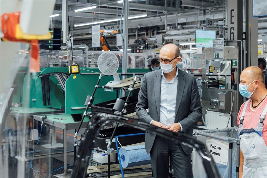 Volkswagen brand CEO Ralf Brandstätter finds out