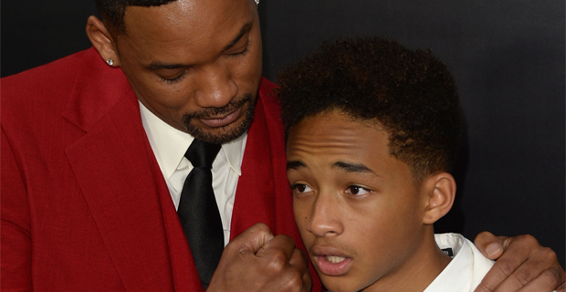 Will Smith and Jaden Smith
