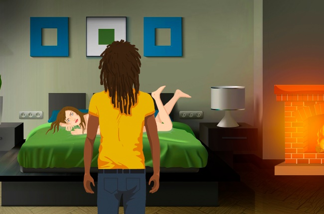 Another man may offer Claudette some excitement. (ILLUSTRATION: Michael de Lucchi)