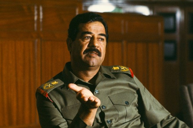Saddam wasn't the easiest boss to work for, says Abu Ali who served as the Iraqi dictator's chef. (PHOTO: GALLO IMAGES/ALAMY)