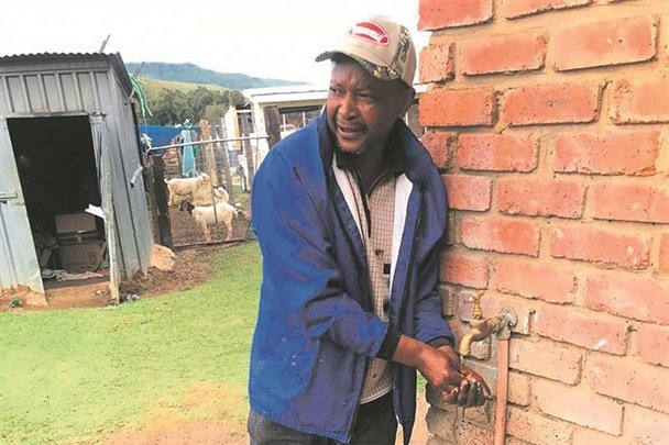 Vuyani Zigana has lost almost everything. Picture: Rapport