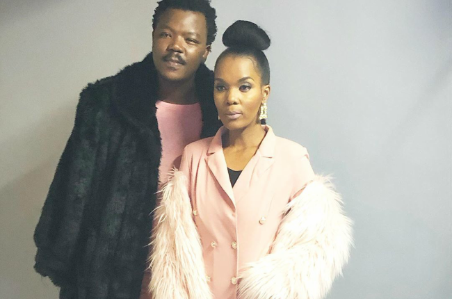 Reality TV star Mome Mahlangu has for the first time made it clear that she is standing by her husband Tol Ass Mo.