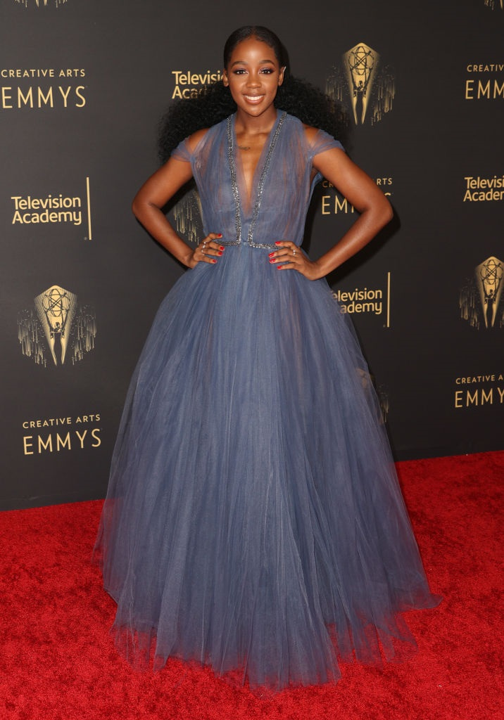 red carpet, emmys, ball gown