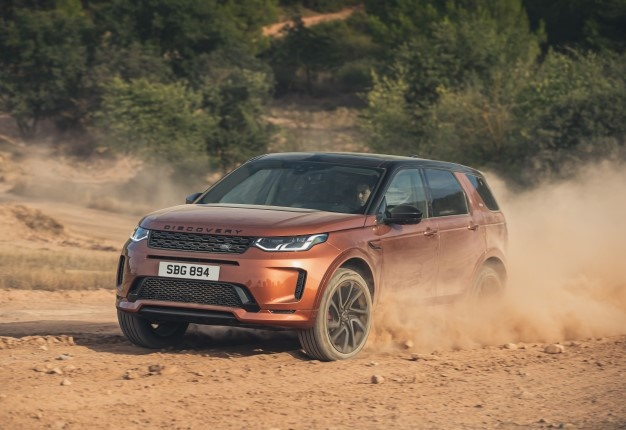 Land Rover Discovery Sport Black.