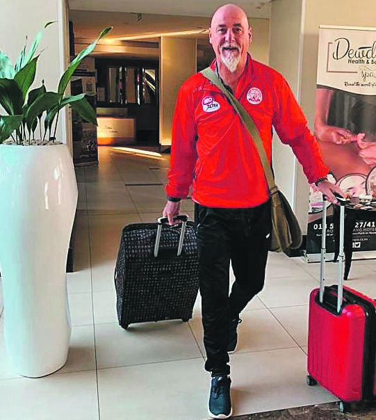 Black Leopards' newly appointed head coach Patrick Aussems