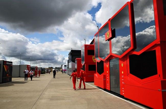 F1 Motorhomes Make A Comeback At Spa Wheels