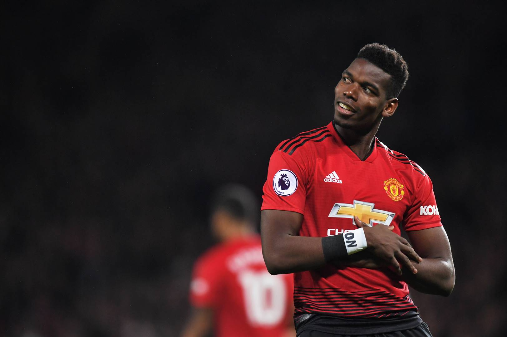 Manchester United midfielder Paul Pogba is the latest football star to test positive for Covid-19. Picture: Michael Regan/Getty Images