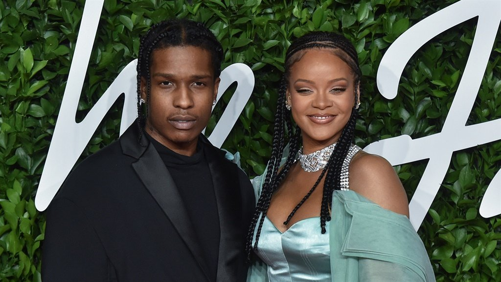 Rihanna  and ASAP Rocky arrive at The Fashion Awards 2019 hel. Photo by Stephane Cardinale - Corbis/Corbis via Getty Images