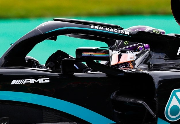Lewis Hamilton of Great Britain driving the Mercedes-AMG W11 on track during practice for the F1 Grand Prix of Belgium. Image: Francois Lenoir Getty Images