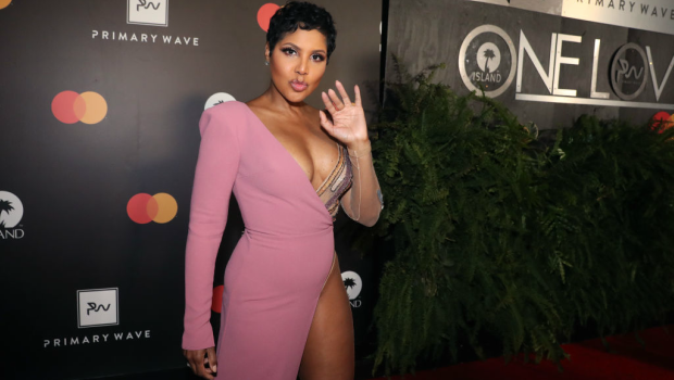 Toni Braxton attends the Primary Wave x Island Records Pre-Grammy Party. Photographed by Johnny Nunez
