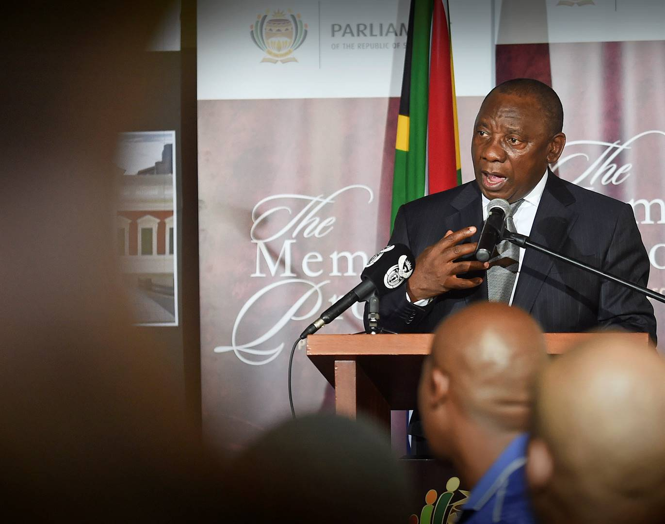 President Cyril Ramaphosa is taking on the corruption within the ANC. Picture: GCIS