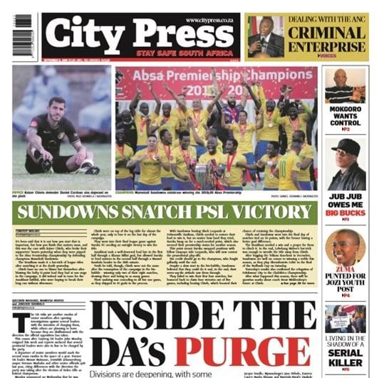 City Press   September 06 2020