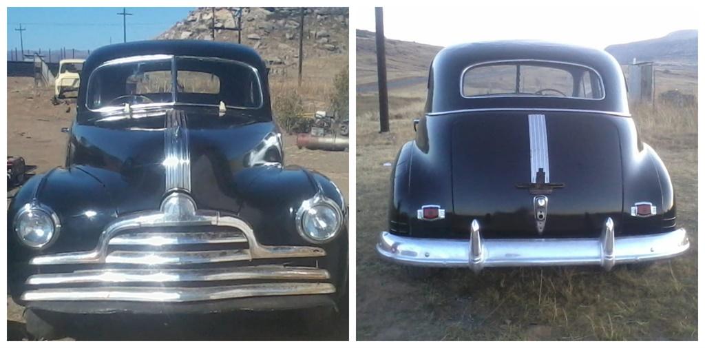 Pontiac 1947 after restoration