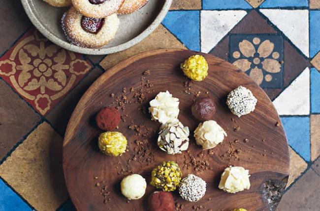 Chocolate truffles (Photo: Liam Tomlin)