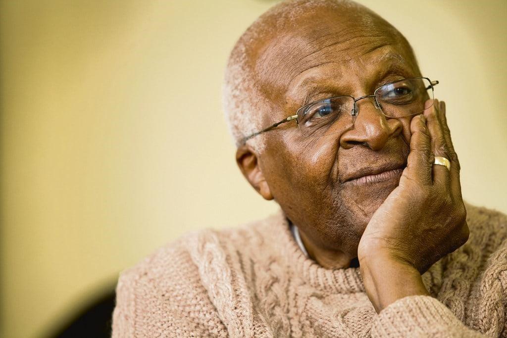 Archbishop Emeritus Desmond Tutu.