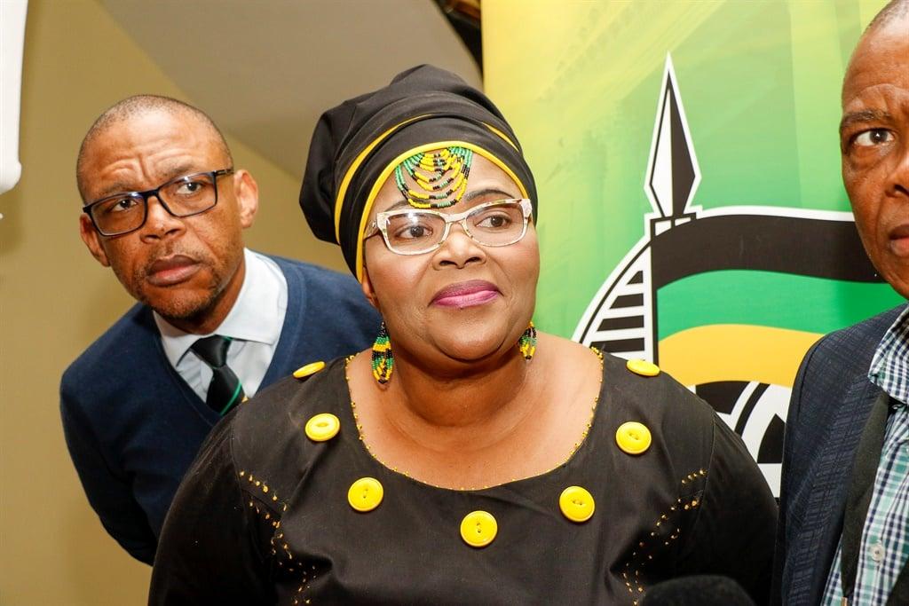 ANC Chief Whip Pemmy Majodina.